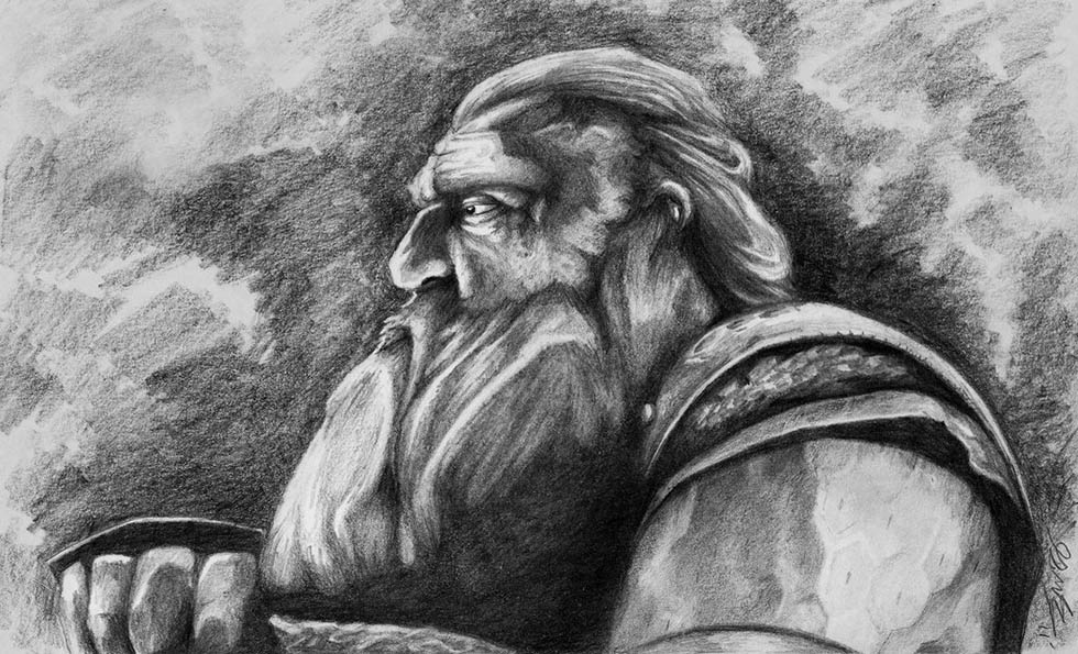 """picture - """"Gimli son of Gloin"""" by Perrie Nicholas Smith (perriesmith.deviantart.com)"""