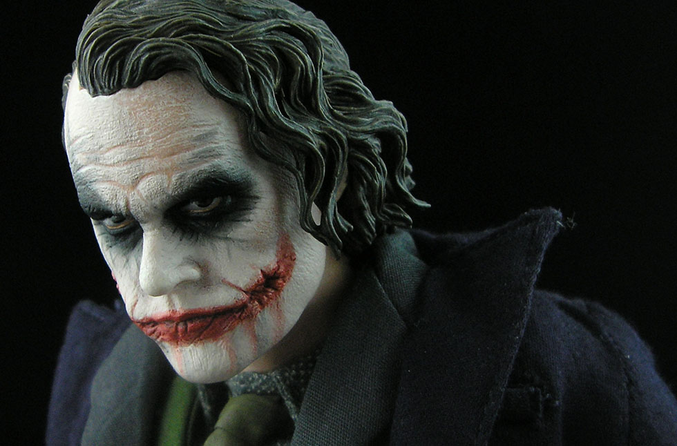 photo - Shaun Wong, 1:6 Hot Toys Joker with Bank Robber Head / Flickr