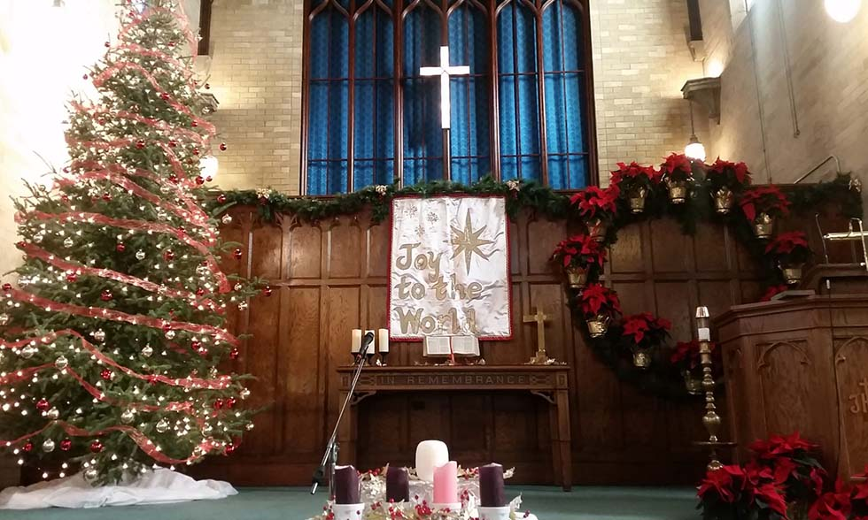 Рождество в протестантской церкви