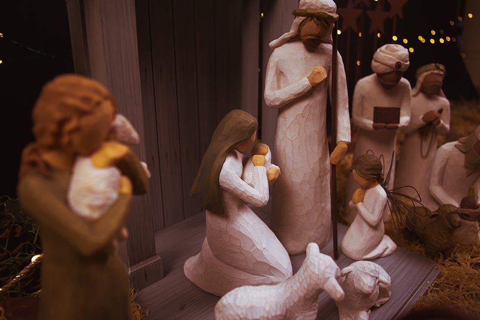 Иосиф, Мария и младенец Иисус