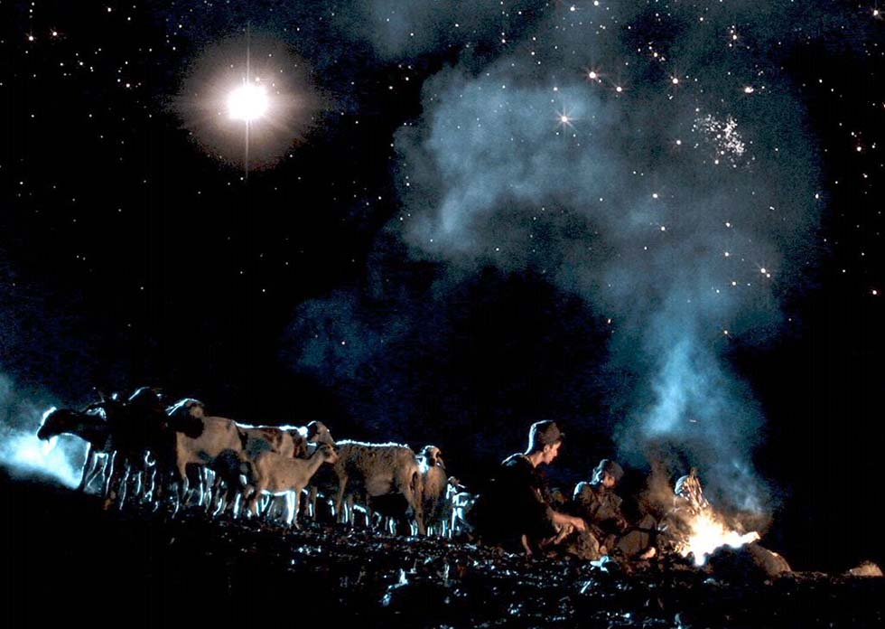 пастухи, Рождество