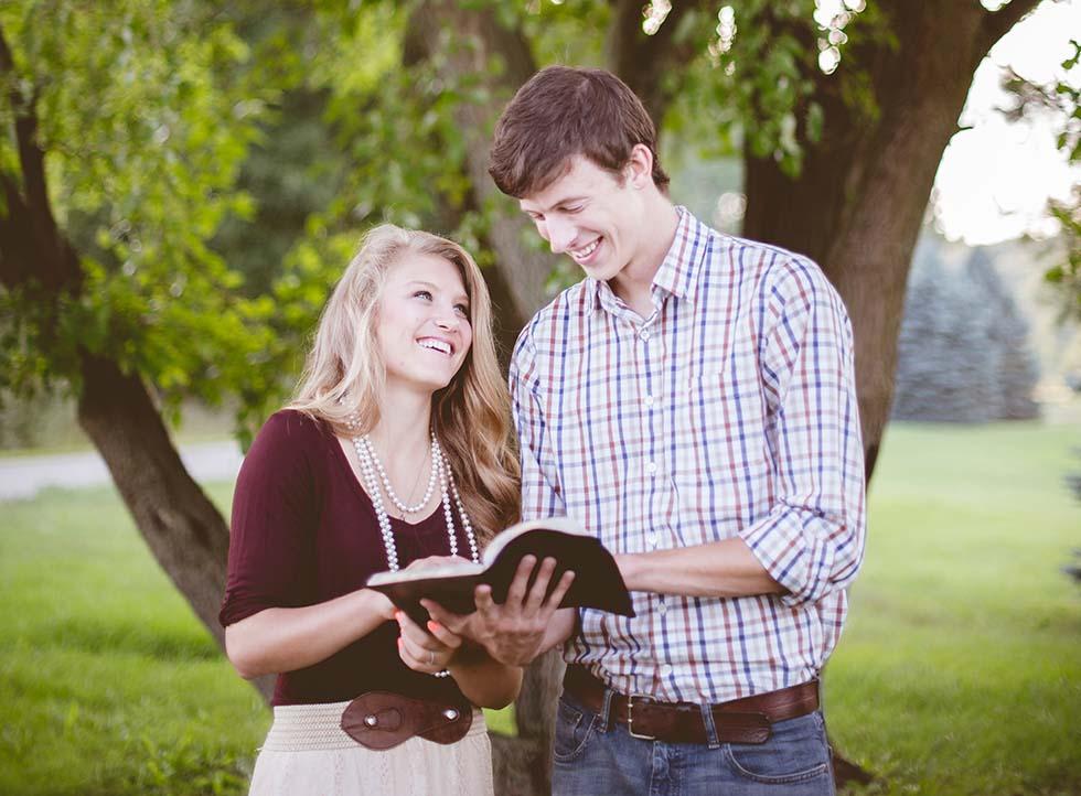 супруги-христиане
