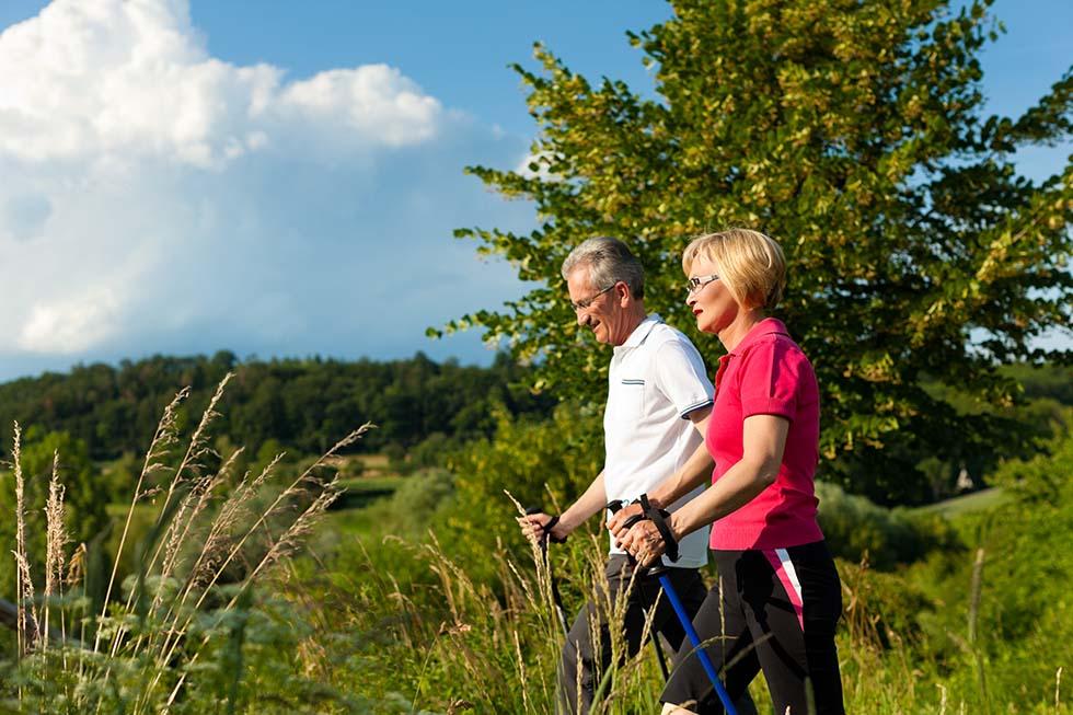 муж и жена, спортивная ходьба