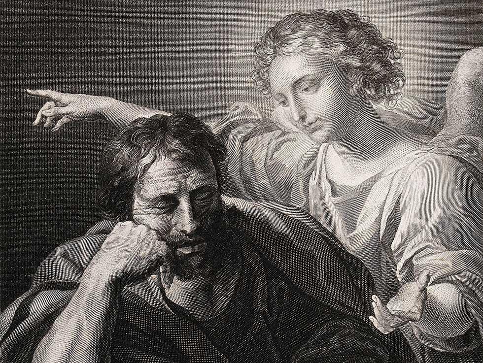 ангел явился Иосифу