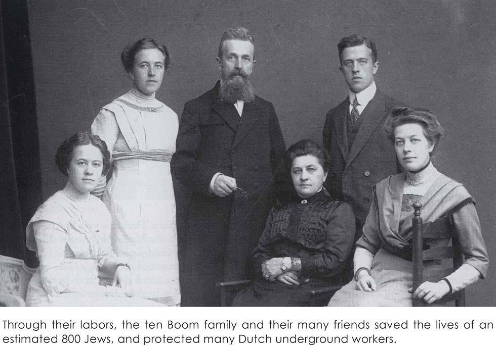 семья Каспера Тен Боом
