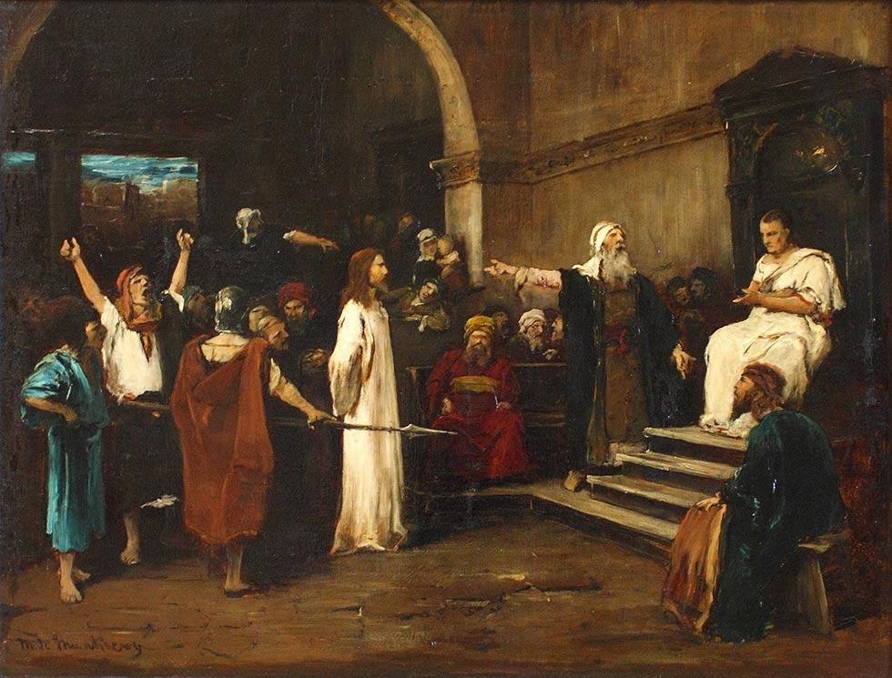 Иисус перед Пилатом