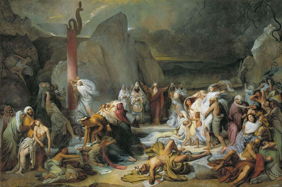 Моисей и медный змей