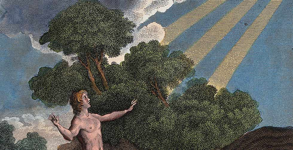 Адам и Бог