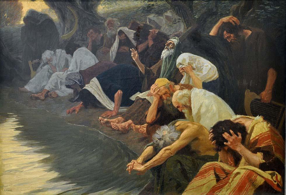 «При реках Вавилона, там сидели мы иплакали, когда вспоминали оСионе» (Пс. 136:1)