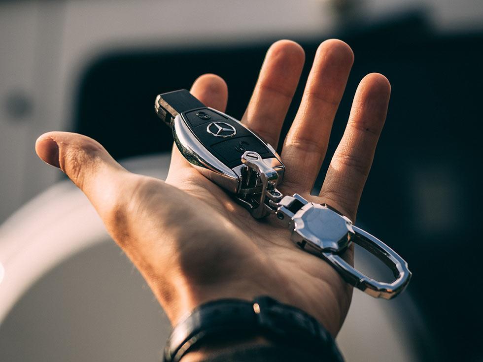 ключи от Мерседеса