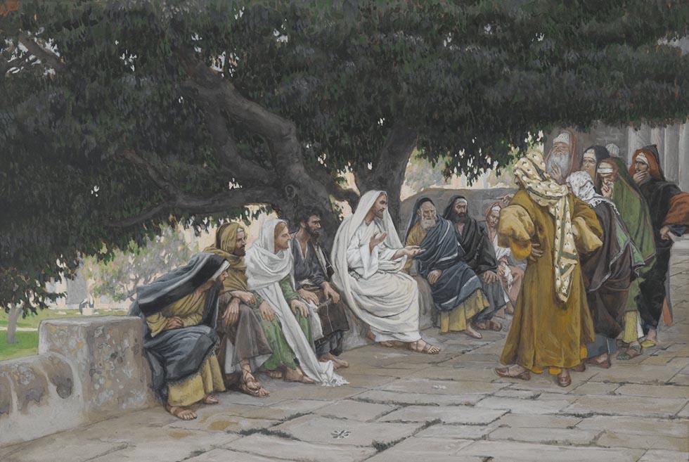 Иисус, апостолы и фарисеи