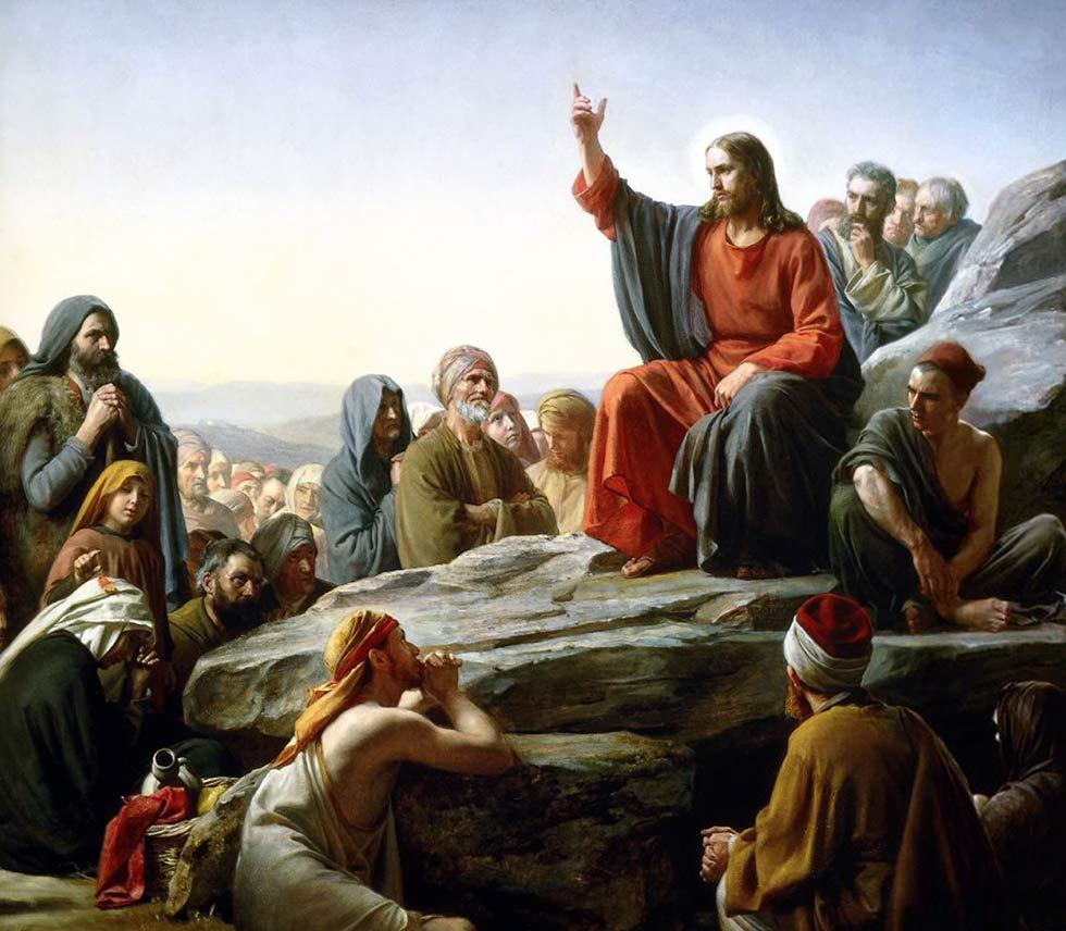 нагорная проповедь Иисуса