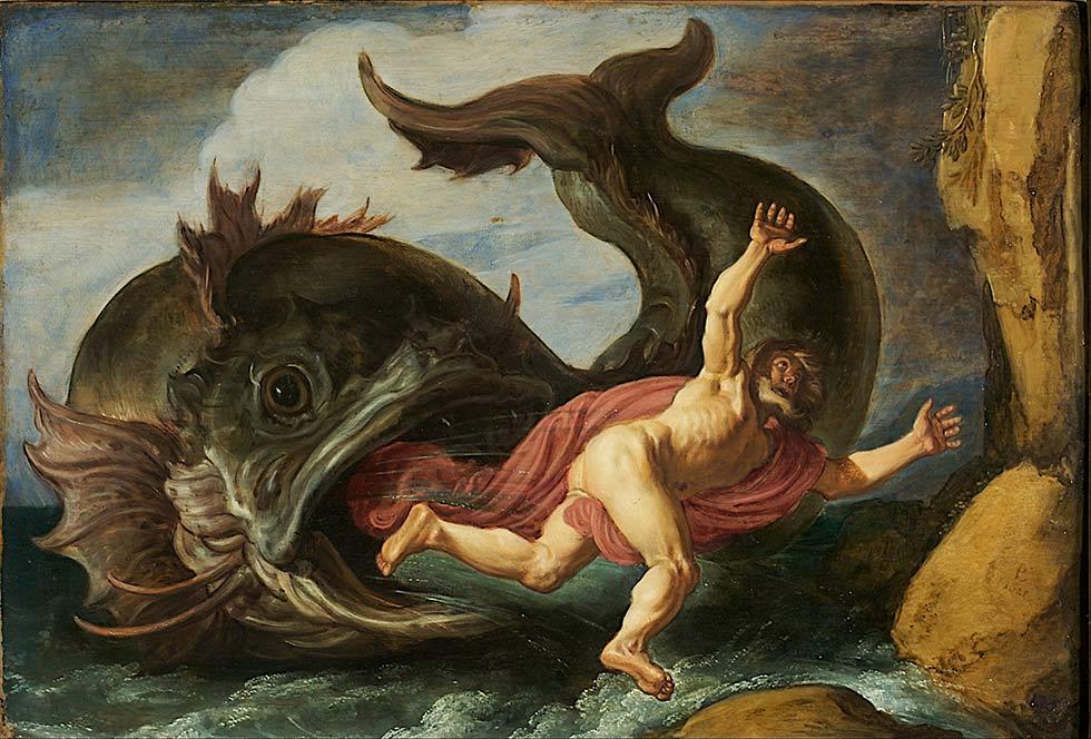 рыба выплюнула Иону