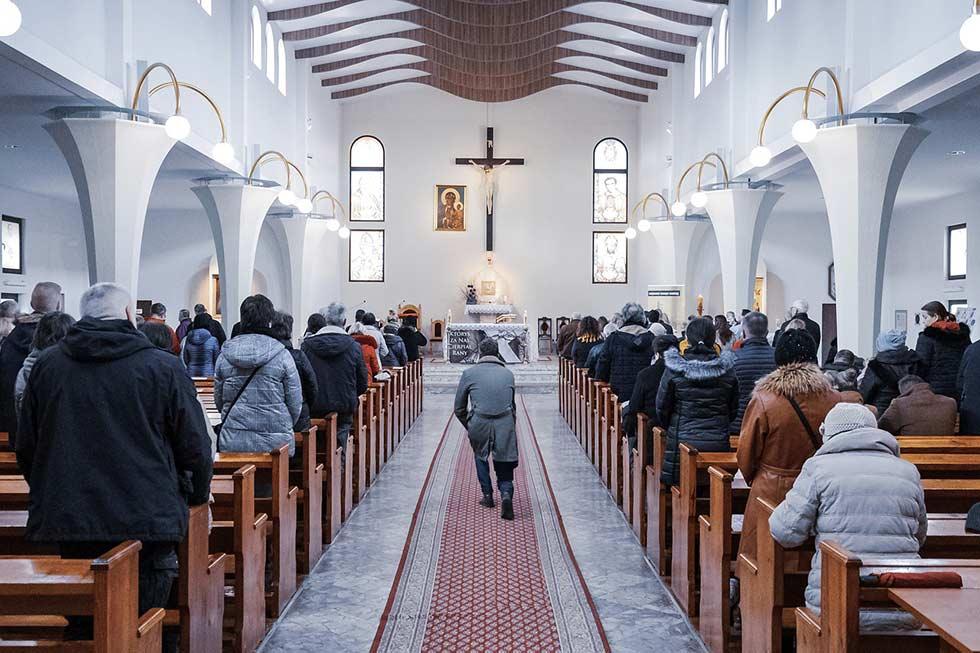 собрание в церкви