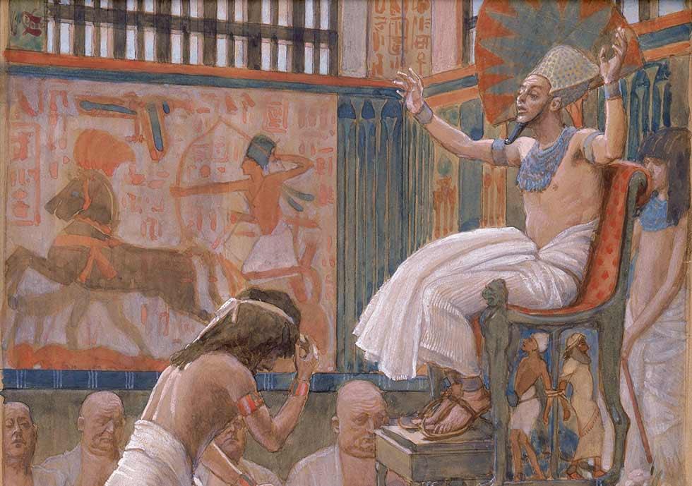 Иосиф и фараон