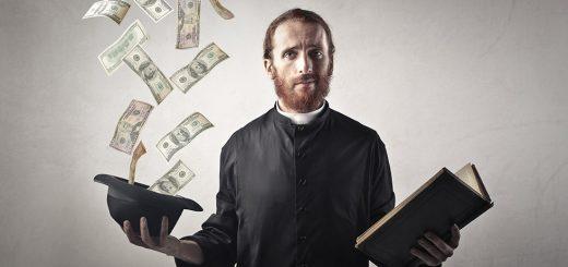 Церковь, деньги и неловкость