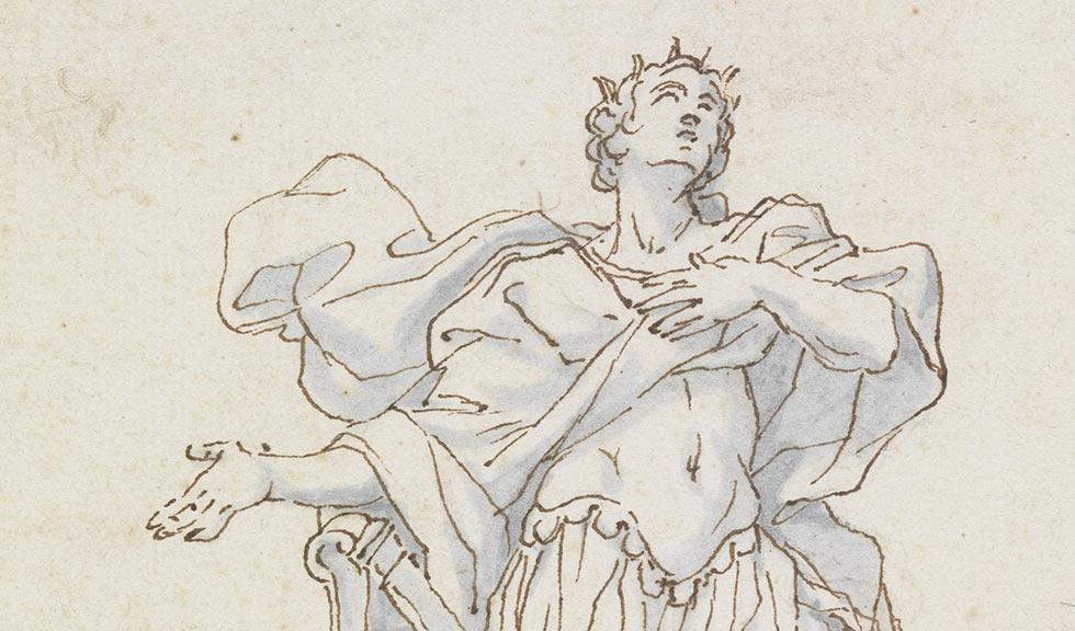 Давид поет Богу