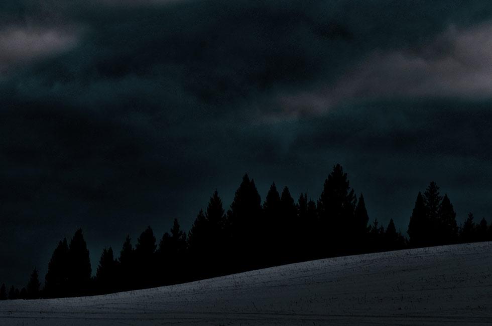 мрачная ночь