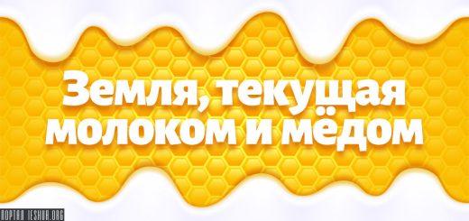 Земля, текущая молоком и мёдом