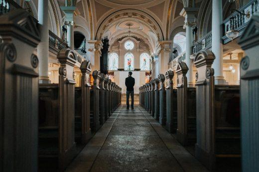 Конец христианства в четырёх стенах