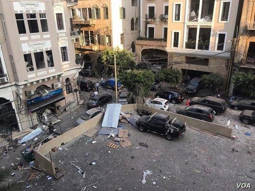 Причина взрыва в Бейруте: неправильное хранение селитры, город объявлен зоной бедствия