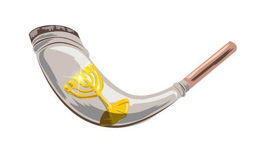 Праздник Труб: шофары и серебряные трубы