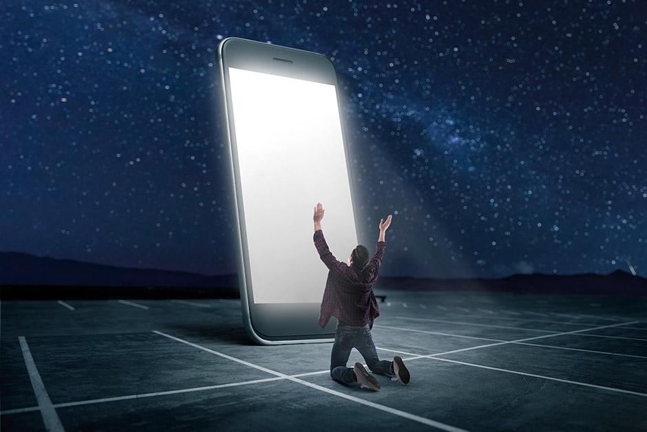 Когда ваш телефон превращается в идола