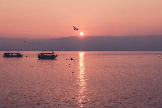 Чудесное время на Галилейском море