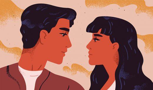 Внимание усиливает огонь романтических отношений